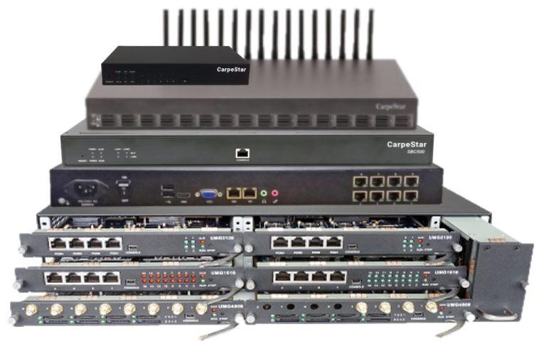 IP-оборудование CarpeStar
